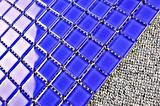 Bouwmateriaal 4mm het Mozaïek van het Glas van de Tegels van het Zwembad van de Dikte