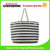 Mode sangle Zebra Crossing Shopping sac fourre-tout loisir de Lady fille sac de plage