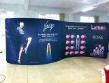 Изготовленный на заказ торговая выставка показывает знамена выставки стен средств