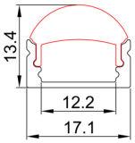 4115 Perfil de alumínio flexível Perfil de alumínio / Solução de iluminação linear