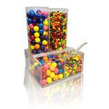 Twee Rijen ontruimen de AcrylDoos van het Suikergoed, POS de Doos van de Vertoning van de Chocolade