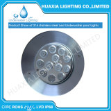 Cc12V Color Blanco de la LUZ EMPOTRADA LED impermeable con carcasa de plástico.