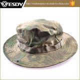 Воинский шлем рыболова Camo с шлемом звероловства Sun широкого Brim сь