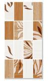 Diseño flor impermeable azulejo de la pared de cerámica