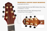 Тип 40 дюймов миниый Jumbo полностью твердая мастерская акустическая гитара