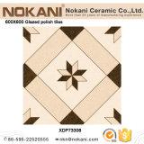 Polaco completo mosaico de porcelana esmaltada Baldosa pulida para salón
