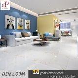 Diseño vitrificado Kerala esmaltado brillante blanco de los azulejos de suelo del mármol del precio bajo de la baldosa cerámica