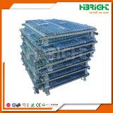 Zink und chromierter zusammenklappbarer Maschendraht-Ladeplatten-Rahmen