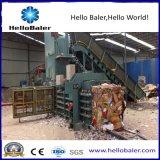 De semi Automatische Horizontale Machine van de Hooipers voor het Beheer van het Afval