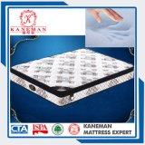 Colchón de resorte Pocket encajonado espuma ideal popular de la colección