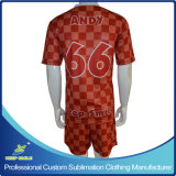 Custom Sublimation Quick Dry Club de soccer de l'équipe des vêtements confortables