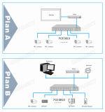 8 Port 10 / 100m BPS Network Poe Switch com 1 RJ45 Uplink Port Poe Switch (POE0810)