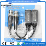 Screwless HD-Cvi/Tvi/Ahd 수동적인 CCTV UTP Cat5 BNC 영상 발룬 송수신기 (VB102pH)