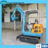 ヤードの構築の使用のための1.8t小型掘削機の小さい坑夫
