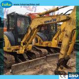 Usado buenas condiciones Komatsu PC35 miniexcavadora de 0,11 para la venta de la excavadora Cbm