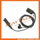 Écouteur de microphone d'os d'oreille avec de grandes PTTs pour STP8000 STP9000