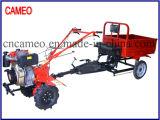 Cp1050 6HP 4.4kw Diesel Tiller Tiller de dos ruedas Mini Tiller Tiller de jardín Tiller de la granja Rotary Tiller Diesel Power Tiller
