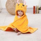 Robe longue à capuchon chaude de poncho de couverture de peignoir de bébé unisexe