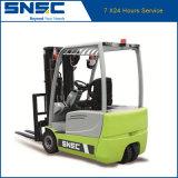 SNSC 1,6 Ton de tres ruedas Carretilla elevadora eléctrica
