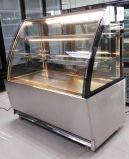 Gebogener trockener Bäckerei-Bildschirmanzeige-Großserienglasschaukasten