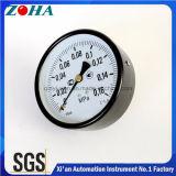 Fixação traseira do Manômetro geral com 4 polegadas de diâmetro 0,16MPa pressão