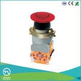 Interruttore di pulsante del fungo di Sanp-Azione di Utl con la fiamma pilota del LED