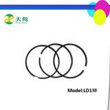 Singolo anello di stantuffo del motore diesel Km130 del cilindro di qualità giapponese
