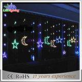 Bunte im Freien Weihnachtsphantasie-Zeichenkette-Lichter der Dekoration-LED