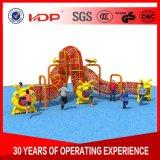 Quartier branché de corde tressée Terrain de jeux extérieur, aire de jeux pour enfants