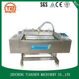 Máquina del lacre y embalaje continuos del vacío para el alimento cocido Dzl-1100