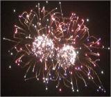 vuurwerk die Chrysanthmum met de Stamper van het Geknetter zwemmen (yf-003)