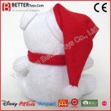 Draagt de Kerstmis Gevulde Zachte Pluche van de Gift van het Stuk speelgoed voor Jonge geitjes