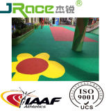 Kids Outdoor Non-Slip EPDM Rubber Athletic Sports Surface Running Track