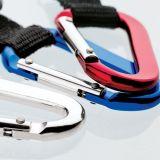 Edelstahl-kletternde Taste Carabiner