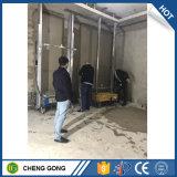Mur exporté célèbre de machines de construction plâtrant la machine