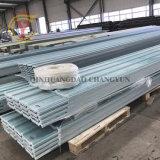 Hoja de techado de fibra de vidrio, material de construcción del panel de plástico reforzado con fibra