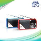 Портативные стерео динамик радиоприемника MP3 музыкальный плеер с FM-радио поддержки двух TF карты U диск