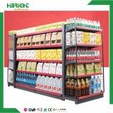La Pequeña Tienda de Conveniencia de acero en góndola de supermercado estanterias