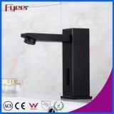 De alta calidad de latón sólido negro automático sensor grifo baño de tina