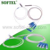 낮은 삽입 손실 4 방법 섬유 PLC 쪼개는 도구