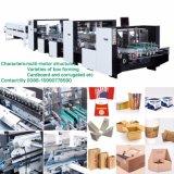 Automatische faltende klebende Multifunktionsmaschine für gewölbtes (GK-1600AC)