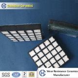 Износоустойчивая керамическая смесь подкладки с резиной
