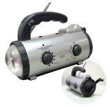 Radio AM/FM de la lumière avec Dynamo (HR-2008AMW)