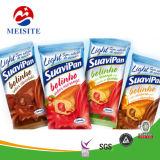 Мешок для упаковки продуктов питания производитель крафт-бумаги / матовая / Глянцевая отделка чехол с сеткой с насечками FDA/ SGS утверждения материала