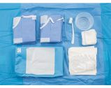 Paquete quirúrgico no tejido médico disponible de la angiografía
