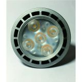 Indicatore luminoso dell'interno del punto della lampadina di AC220V ADC12V SMD 3W 5W MR16 GU10 LED