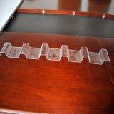 Policarbonato transparente de hoja corrugado de techos de hojas de plástico PC