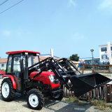 30HP, 40Cv Tractor agrícola de las 4 ruedas con cargador frontal