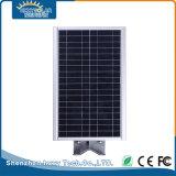 IP65 12W Bridgelux LED solar integrada en el exterior de la luz de la calle