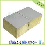 Ignifugation panneau panneaux sandwich en laine de roche pour les panneaux muraux